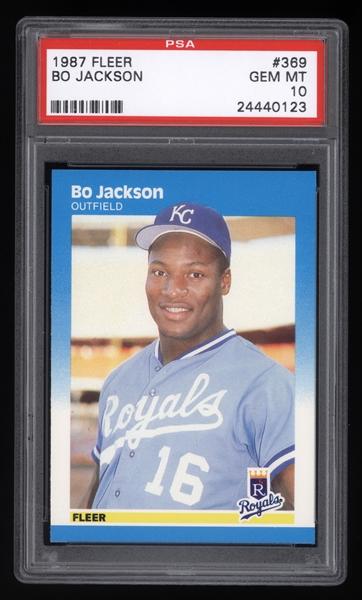 1987 Fleer Bo Jackson