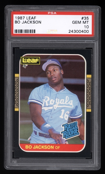 1987 Leaf Bo Jackson