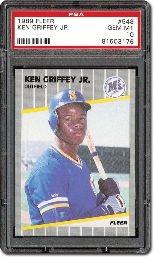 91498ee65a Set Registry Starter Kit: Ken Griffey Jr. Rookie Set - PSA Blog