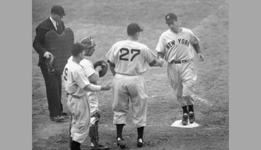 new arrival 32354 12f01 Sizing Up Joltin' Joe's 1947 Yankees Jersey - PSA Blog