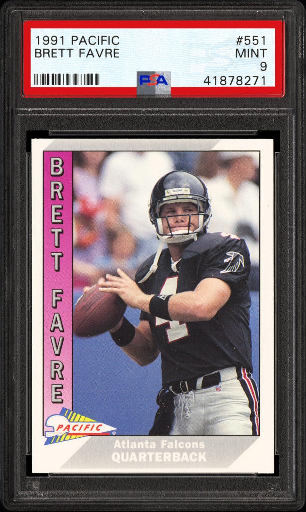 1991 Pacific 551 Brett Favre
