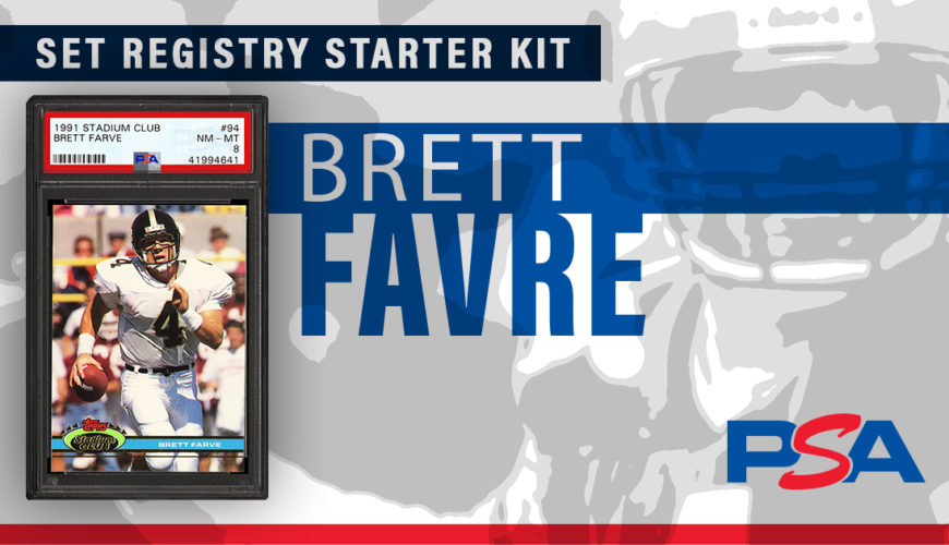 Set Registry Starter Kit Brett Favre Psa Blog