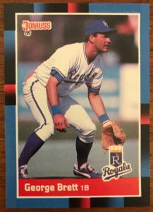 1988 donruss george brett