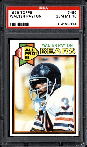 1979 topps walter payton