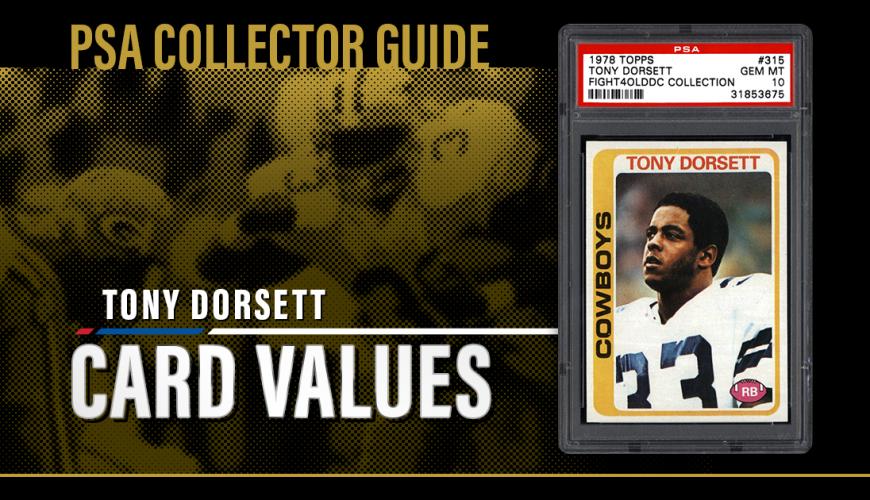 1984 Topps Football Card #238 Tony Dorsett