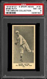 M101-5 Babe Ruth